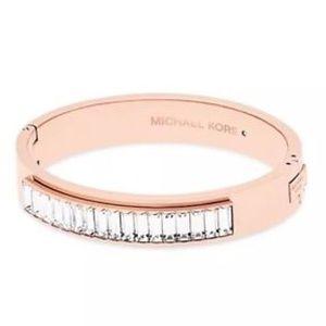 Michael Kors MKJ6232791 rose gold bangle bracelet